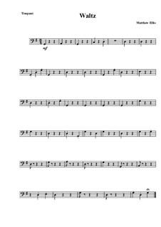 Waltz: Партия литавр by Matthew Ellis
