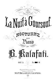 Nocturne, Op.5: Ноктюрн by Василий Калафати
