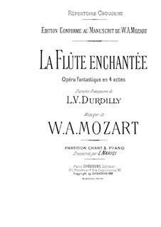 Вся опера: Для солистов, хора и фортепиано by Вольфганг Амадей Моцарт