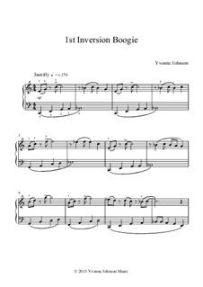 1st Inversion Boogie: 1st Inversion Boogie by Yvonne Johnson