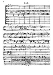 Концерт для фортепиано с оркестром No.9 ми-бемоль мажор 'Jeunehomme', K.271: Часть III by Вольфганг Амадей Моцарт