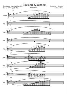 Сорок два этюда или каприса: Etude No.23 by Родольф Крейцер