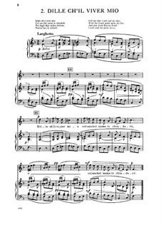 Dille ch'il viver mio: Dille ch'il viver mio by Антонио Вивальди