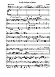 Рондо для флейты и фортепиано, Op.6: Рондо для флейты и фортепиано by Никита Бельтюков