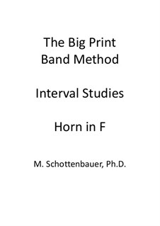 Interval Studies: Horn in F by Michele Schottenbauer
