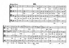 Sicut cervus: Вокальная партитура by Джованни да Палестрина