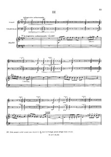 Фортепианное трио до минор, Op.45: Часть II by Габриэль Пьерне