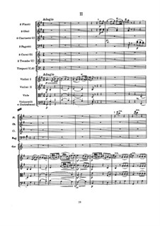 Симфония No.99 ми-бемоль мажор, Hob.I/99: Часть II by Йозеф Гайдн