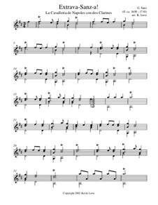 Extrava-Sanz-a!: Для гитары by Гаспар Санц