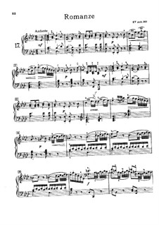 Романс ля-бемоль мажор, KV Anh.205: Романс ля-бемоль мажор by Вольфганг Амадей Моцарт