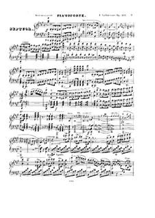 Септет ля мажор, Op.132: Партия фортепиано by Фридрих Калькбреннер