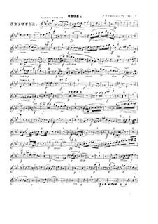 Септет ля мажор, Op.132: Партия гобоя by Фридрих Калькбреннер