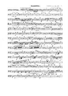 Септет ля мажор, Op.132: Партия фагота by Фридрих Калькбреннер