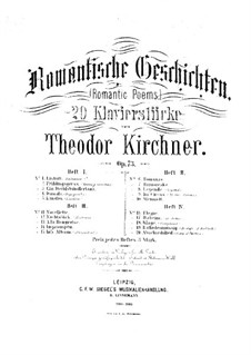 Романтические поэмы, Op.73: Тетради I-II by Теодор Кирхнер