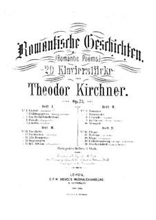 Романтические поэмы, Op.73: Тетради III-IV by Теодор Кирхнер
