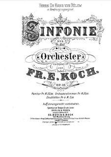 Симфония No.2 соль мажор, Op.10: Симфония No.2 соль мажор by Фридрих Эрнст Кох