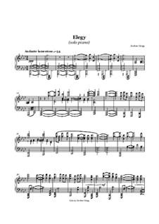 Elegy (solo piano): Elegy (solo piano) by Jordan Grigg