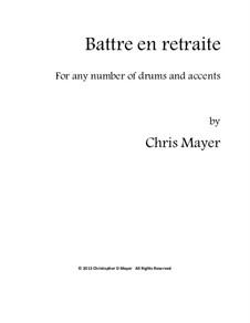 Battre en retraite: Battre en retraite by Chris Mayer