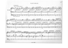Лёгкие трио: No.28 Кантабиле by Жак Николя Лемменс