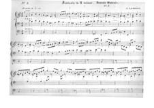 Четыре пьесы для органа: No.3 Фантазия ля минор by Жак Николя Лемменс