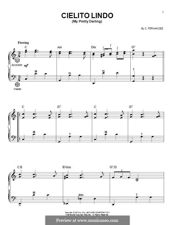 Cielito Lindo: Для аккордеона by folklore
