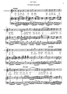 No.17 Aria di Mitridate 'Gia di pieta mi spoglio': No.17 Aria di Mitridate 'Gia di pieta mi spoglio' by Вольфганг Амадей Моцарт