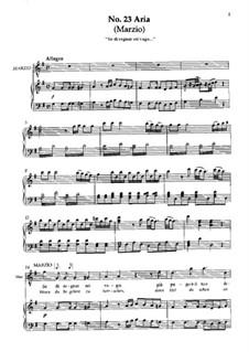 No.23 Aria di Marzio 'Se di regnar sei vago': No.23 Aria di Marzio 'Se di regnar sei vago' by Вольфганг Амадей Моцарт