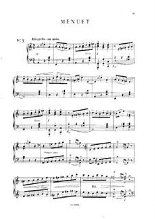 Пять пьес: No.3 Менуэт, Op.14 by Мел Бонис