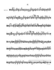 Quick Suite, Op.18: No.2 Minuet, for solo viola by Dov Rosenschein