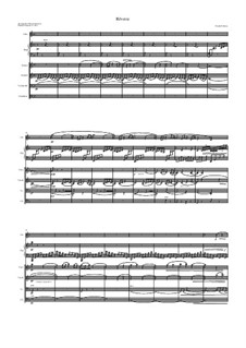 Rêverie, L.68: For sextet by Клод Дебюсси