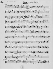 Дивертисмент для кларнета или гобоя и фортепиано: Партитура by Эрнст Леви