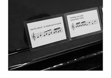 Magic Music Cards: Melody 1 (first level) by Joan Yakkey