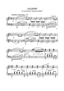Адажио, для фортепиано: Адажио, для фортепиано by Евгений Дога