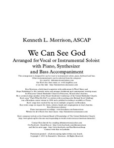 We Can See God: We Can See God by Ken Morrison