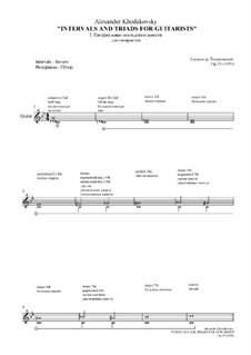 Intervals and Triads, Op.29 No.1: Intervals and Triads by Александр Ходаковский