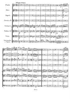 Симфония No.5 си-бемоль мажор, D.485: Часть IV by Франц Шуберт