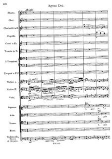 Месса No.5 ля-бемоль мажор, D.678: Agnus Dei by Франц Шуберт