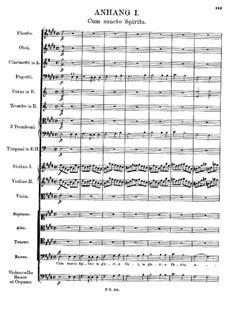 Месса No.5 ля-бемоль мажор, D.678: Дополнение I by Франц Шуберт
