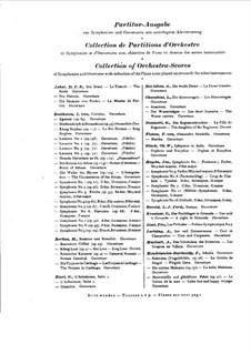 Симфония No.8 'Неоконченная', D.759: Партитура by Франц Шуберт