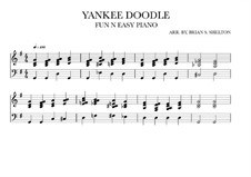 Yankee Doodle: For synthesizer (G Major) by folklore