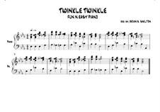 Twinkle, Twinkle Little Star: In Eb major by folklore