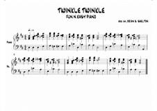 Twinkle, Twinkle Little Star: Ре мажор by folklore