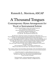 A Thousand Tongues: A Thousand Tongues by Карл Гласер