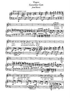 Риенци, или Последний трибун, WWV 49: Gerechter Gott! by Рихард Вагнер