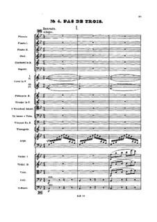 No.4 Па-де-труа: No.4 Па-де-труа by Петр Чайковский