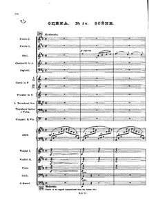No.14 Сцена: Партитура by Петр Чайковский