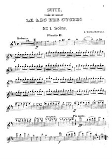 Версия A: Партия второй флейты by Петр Чайковский