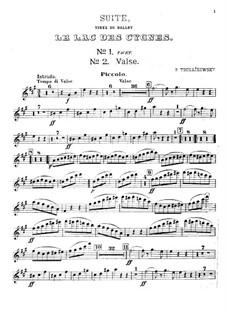 Версия A: Партия флейты пикколо by Петр Чайковский