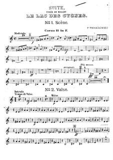 Версия A: Партия второй валторны by Петр Чайковский