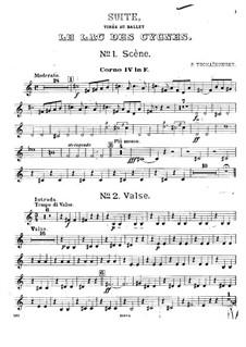 Версия A: Партия четвертой валторны by Петр Чайковский